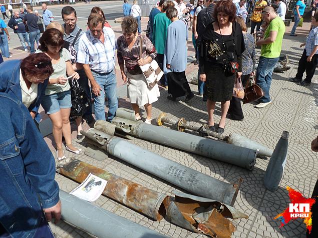 Это железо все лето падало им на головы Фото: Николай ВАРСЕГОВ
