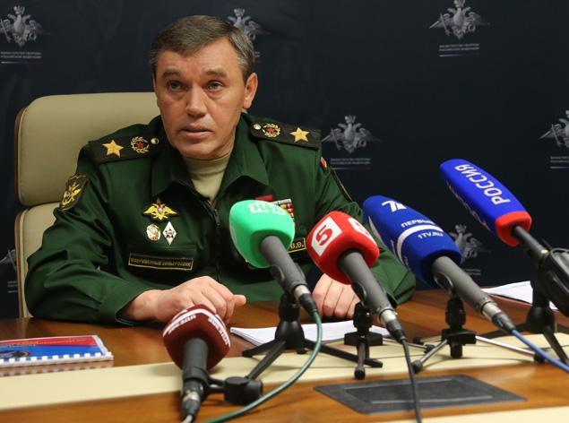 Начальник Генерального штаба Вооруженных Сил РФ генерал армии Валерий ГЕРАСИМОВ