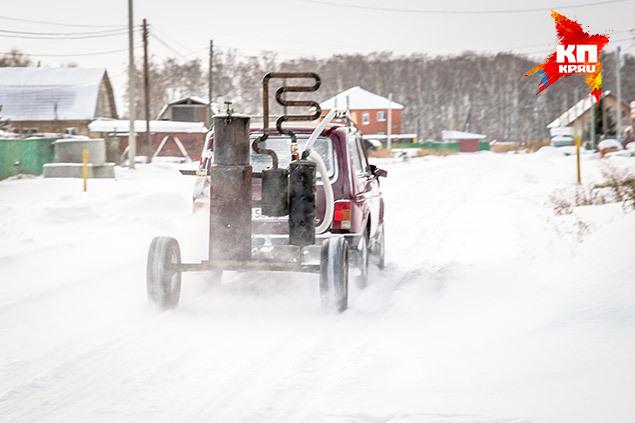 15 килограммов угля хватает на 120 километров Фото: Андрей КУТУЗОВ