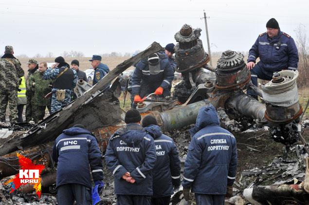 Для разгадки причин катастрофы нужны неопровержимые факты, а не предположения Фото: Виктор ГУСЕЙНОВ