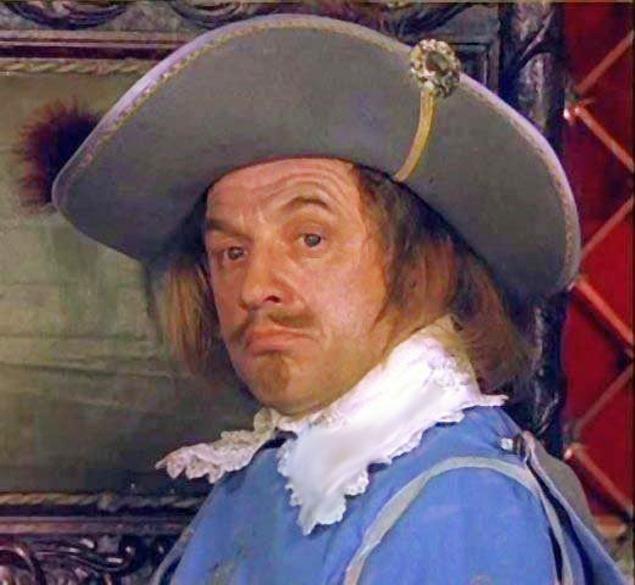 Капитан королевских мушкетеров Де Тревиль . Фото: кадр из фильма