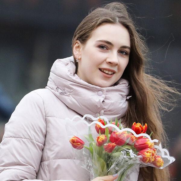 8 марта в Парке Горького