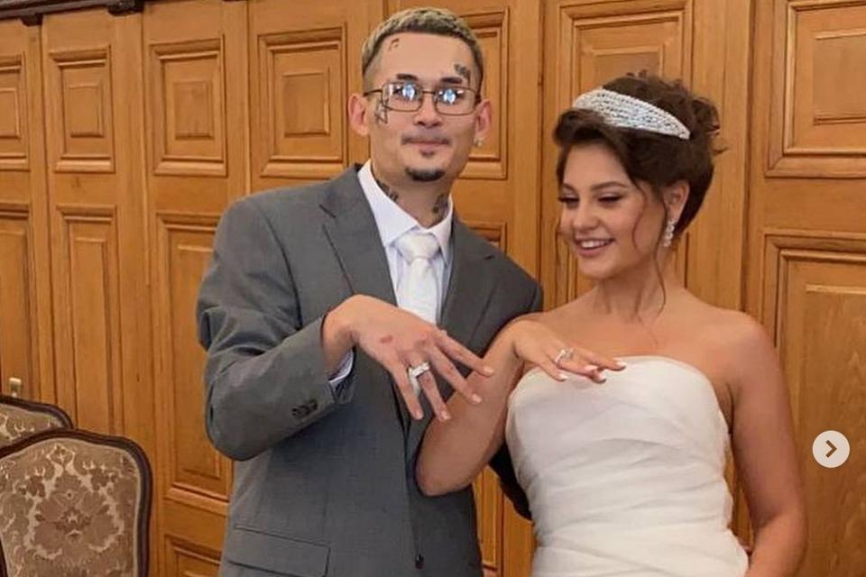 Как прошла свадьба Моргенштерна и Дилары: Настя Ивлеева в трауре, цыгане и драка друзей жениха