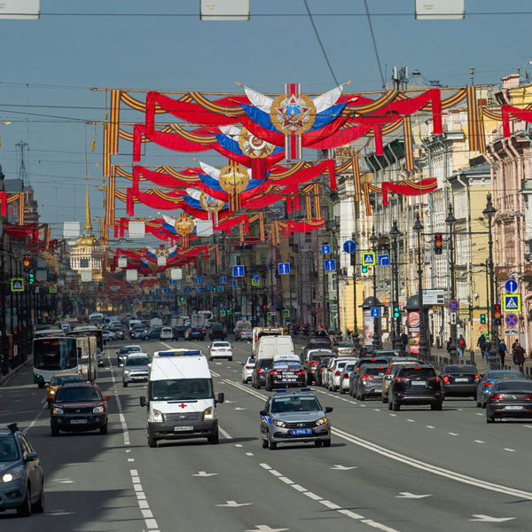 Как украсят Санкт-Петербург ко Дню Победы