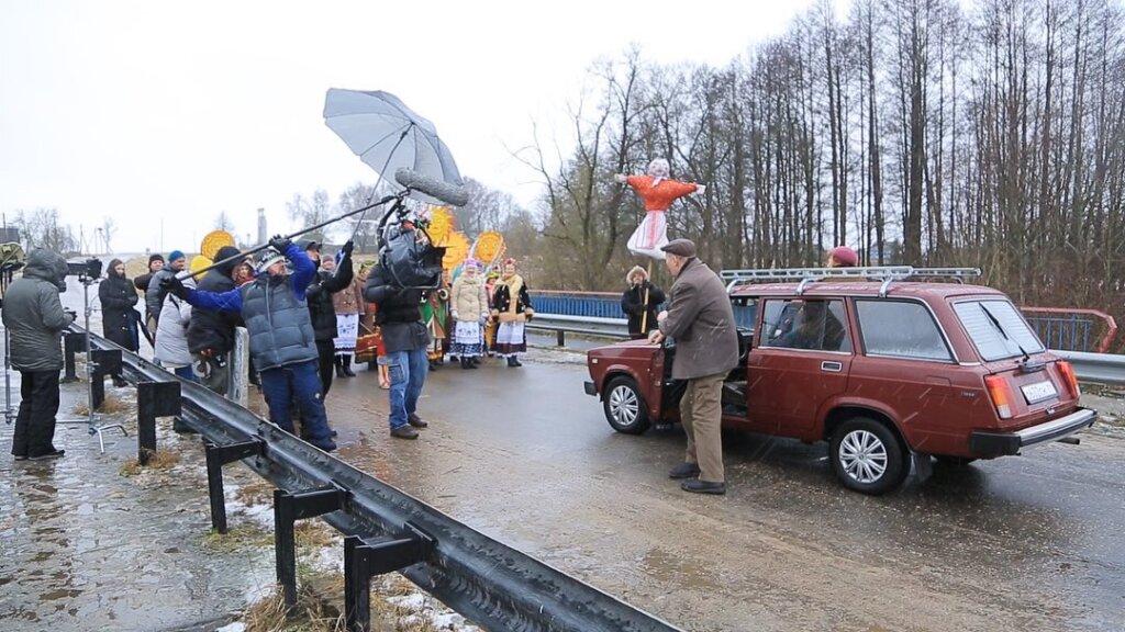 На съемки «Сватов-7» не пускают ни журналистов, ни местных жителей