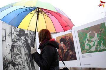 Выставка на Якуба Коласа: истории картин