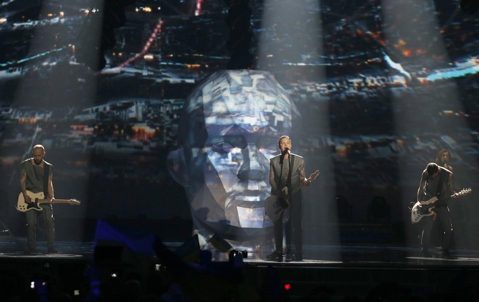 """Выступление украинской рок-группы O.Torvald на """"Евровидении"""" в Киеве"""