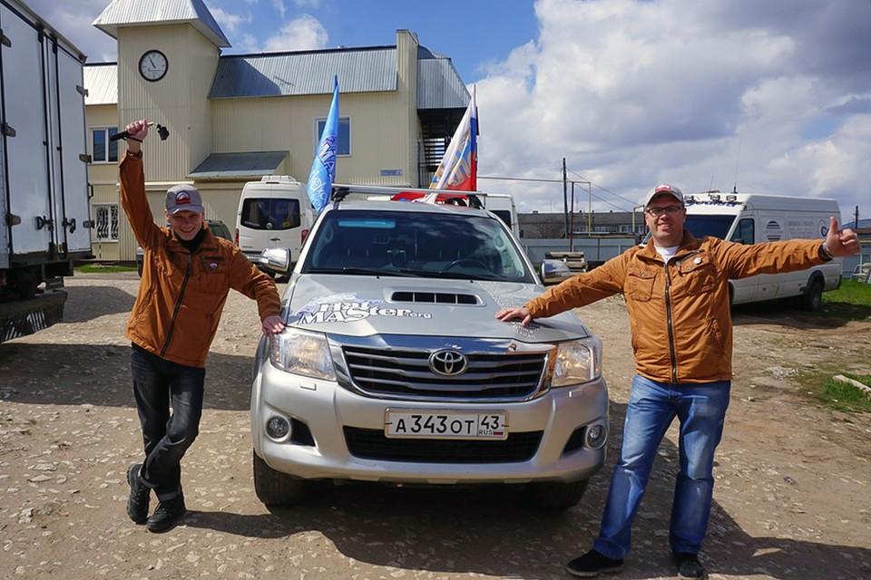 Экспедиция Hat Master стартовала из Вятских Полян. Фото: Гульназ КАДИРОВА