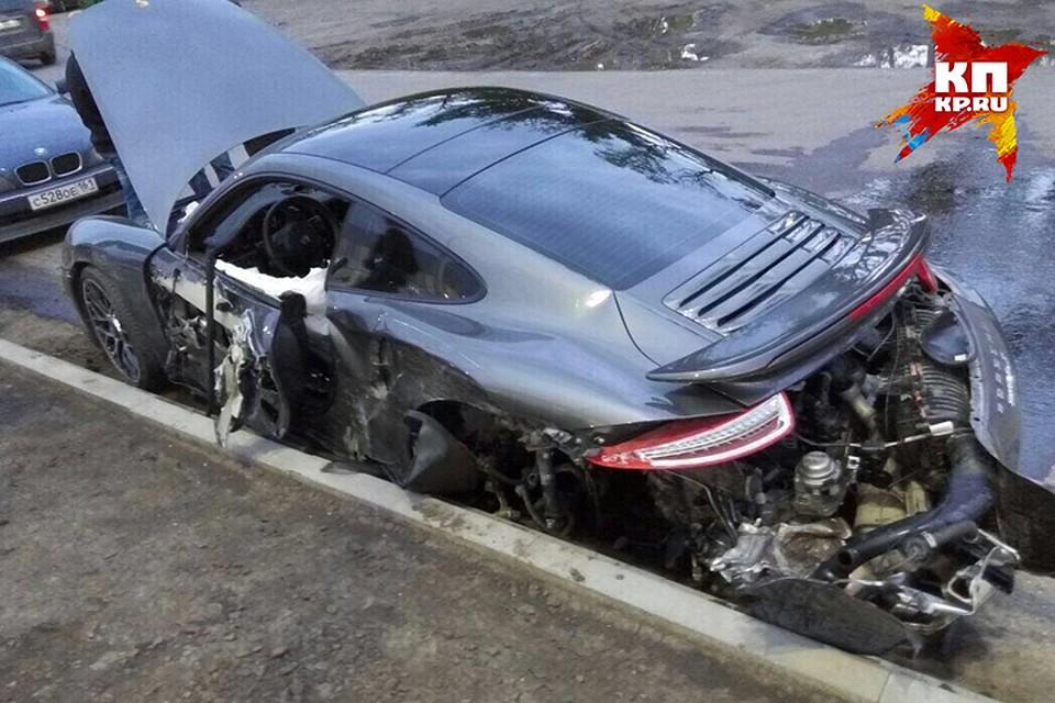 В Ростове механик автосервиса разбил спорткар Porsche за 13 млн ... 03ca35ca7ff