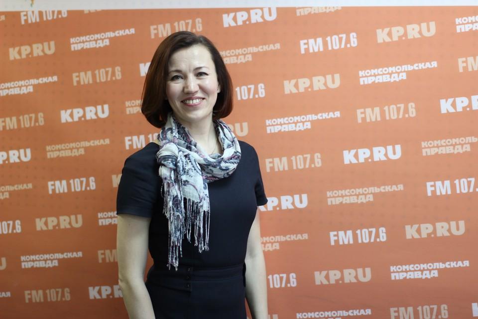 Руководитель Агентства инвестиционного развития Удмуртии Римма Бякова