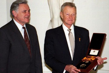 В США скончался известный политолог Збигнев Бжезинский, посвятивший свою жизнь борьбе с Россией