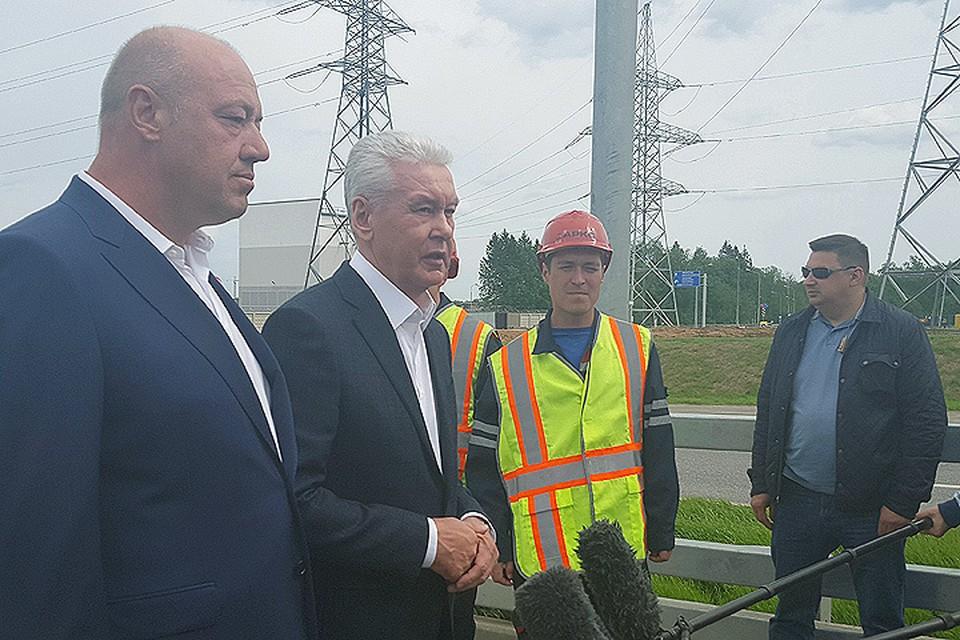 Мэр Сергей Собянин отметил важность запуска участка дороги в связи с развитием территорий столицы.