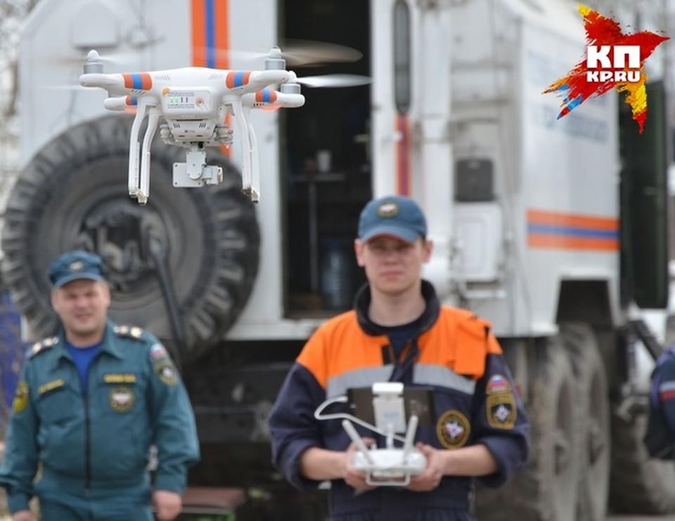 Спасатели будут искать ребенка с воздуха