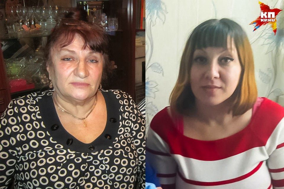 Зоя Антоновна и ее родная дочь Люция.