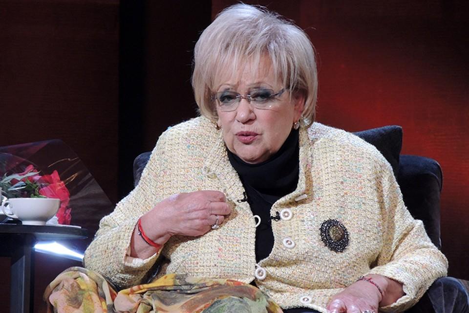 Галина Борисовна отвечала на вопросы зрителей