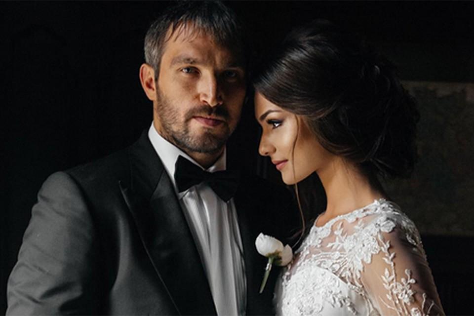 Александр Овечкин и Анастасия Шубская сыграли роскошную свадьбу через год после тайной регистрации брака и венчания