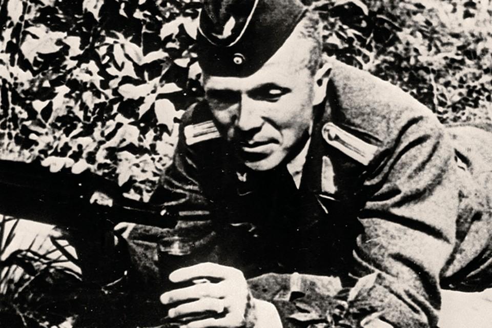 Разведчик в образе нацистского офицера Зиберта. Фото: TASS