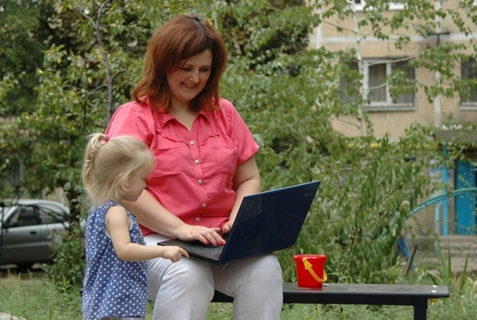 Из дома сотрудники работают более продуктивно. Фото: Константин БУНОВСКИЙ.