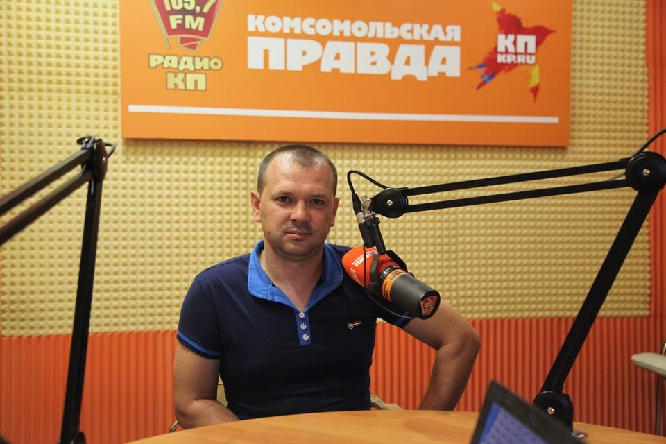 Начальник отдела управления уголовного розыска, подполковник полиции Юрий Аксёнов