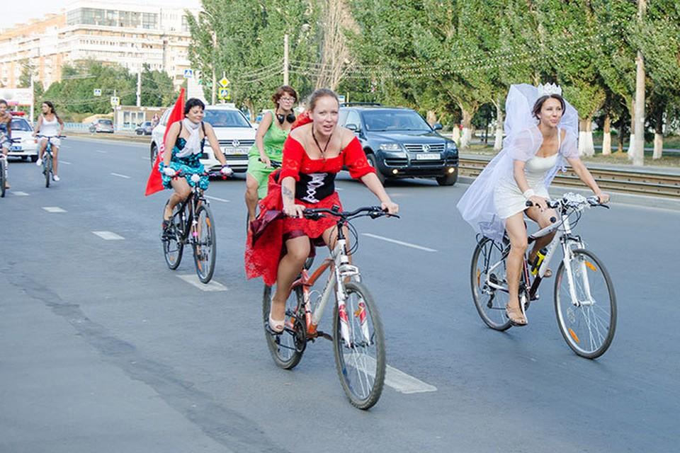 """20 августа прекрасных самарчанок ждут на традиционный """"Велодевичник"""""""