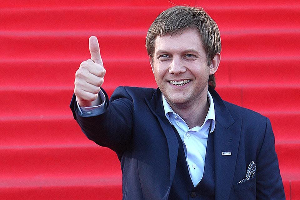 Борис Корчевников на вручении телепремии ТЭФИ-2016.