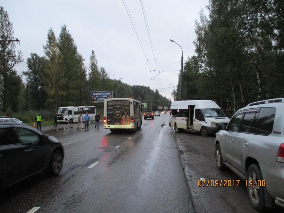 Дорожно-транспортное происшествие случилось на Ленинградском проспекте