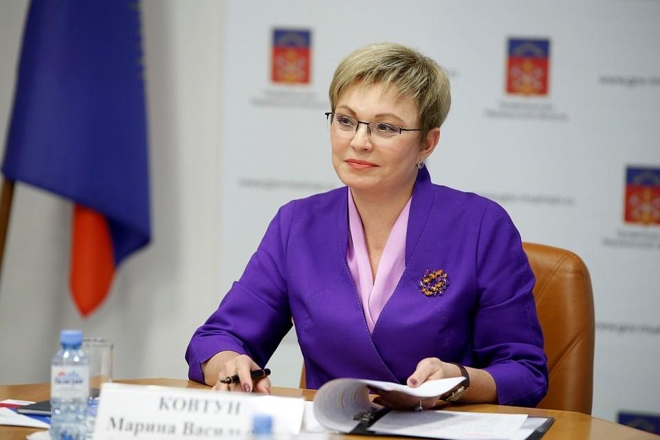 Марина Ковтун в очередной раз опровергла слухи об отставке. Фото: пресс-служба правительства Мурманской области.