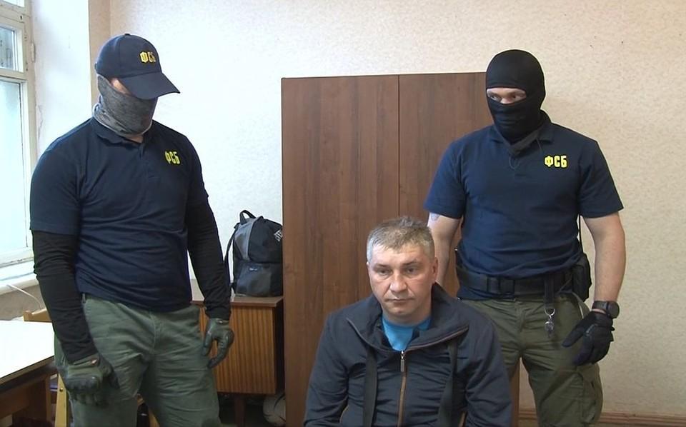 Дмитрий Долгов на допросе ФСБ.