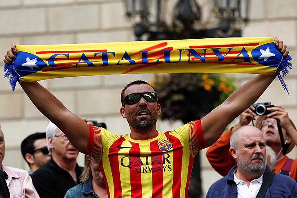 Bоевать каталонцам нечем, во-вторых воевать у них нет желания
