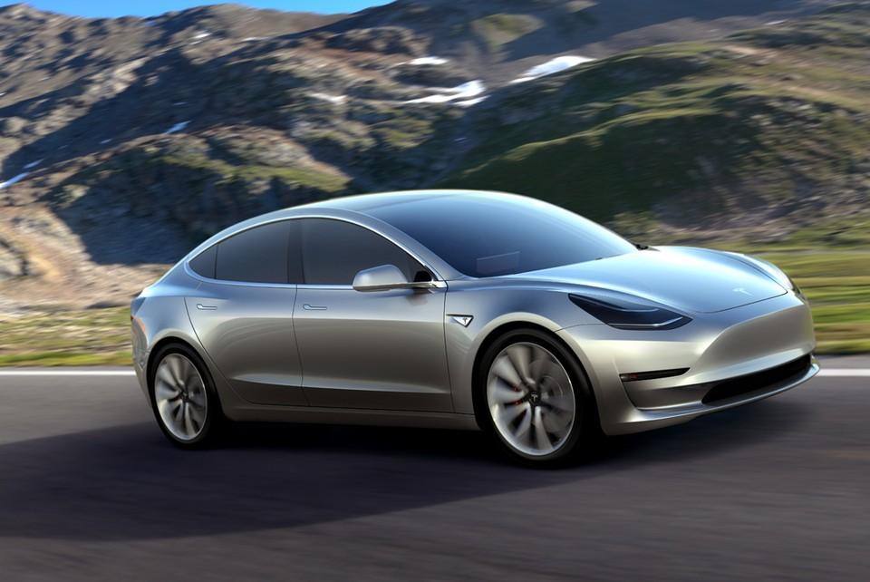 Tesla Model 3 - самый популярный электромобиль в Нидерландах.