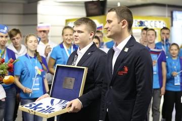 В Россию прибыл флаг мирового чемпионата профессионального мастерства WorldSkills Kazan 2019