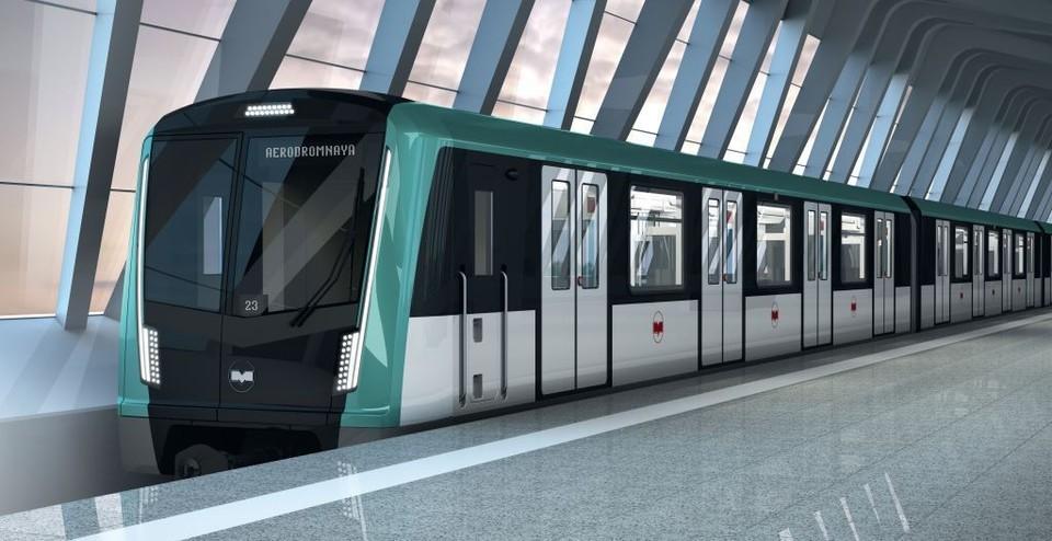 Вот так будут выглядеть новые поезда, которые пустят на третьей линии метро Фото: Компания «Штадлер Минск»