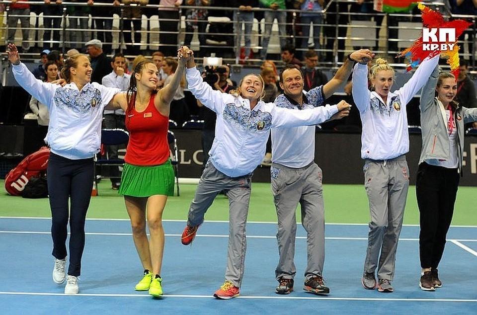 """На """"Чижовка-Арене"""" в этом году наши теннисистки обыграли Голландию и Швейцарию."""