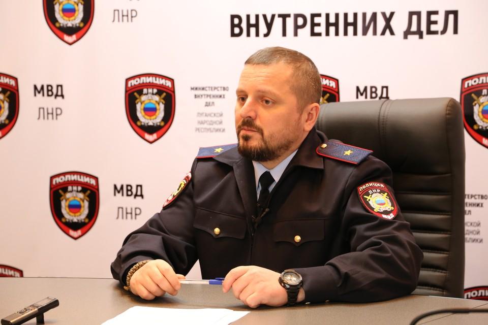 Игорь Корнет сообщил, что на каждое придуманное в Луганске «событие» следует мгновенный отклик на Украине. Фото: МВД ЛНР