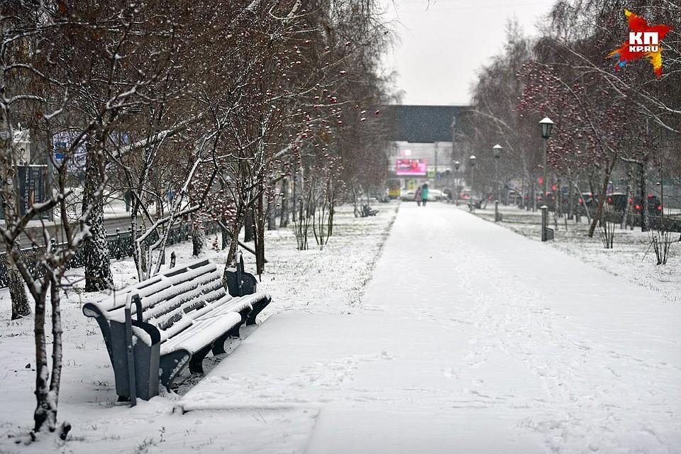 Снег в новосибирске в мае