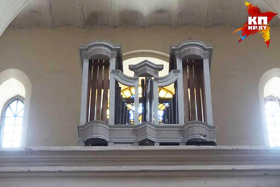 Орган после реставрации заметно преобразился. Фото: архив Татьяны Бембель