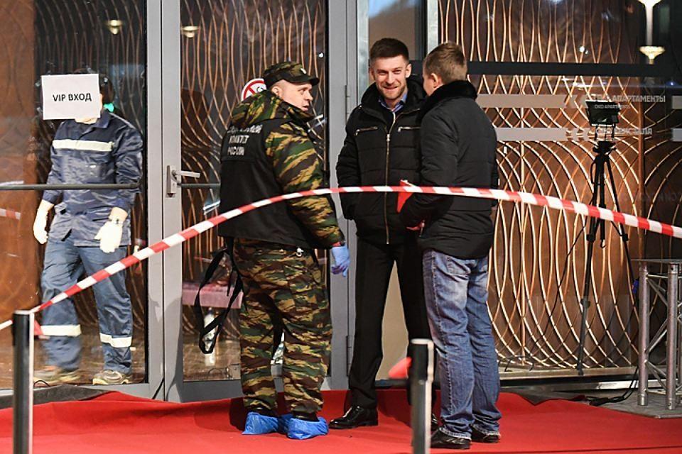 Перестрелка у башни «Око» в Москва-Сити произошла вечером 17 ноября. Фото: Максим Григорьев/ТАСС