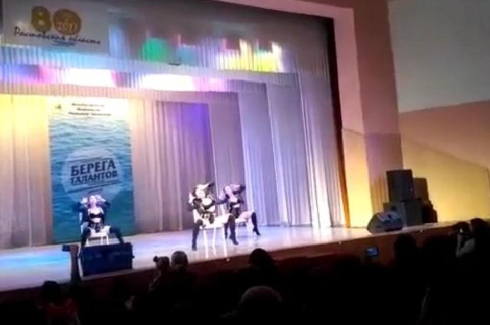 Детский видео стриптиз
