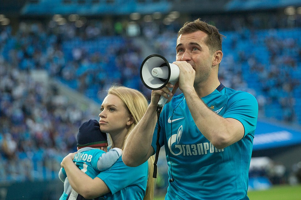 Александр Кержаков отмечает 35-летний юбилей