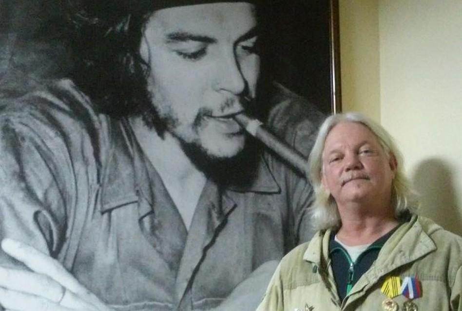 Для Рассела Бентли идеал - Че Гевара. Фото: личный архив Рассела Бентли