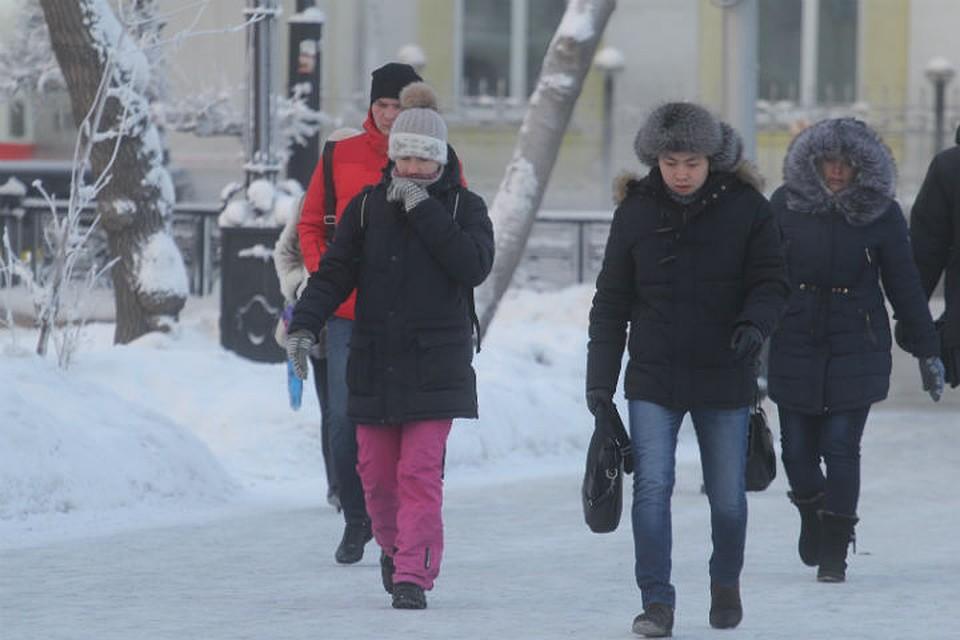 Погода в декабре в иркутске