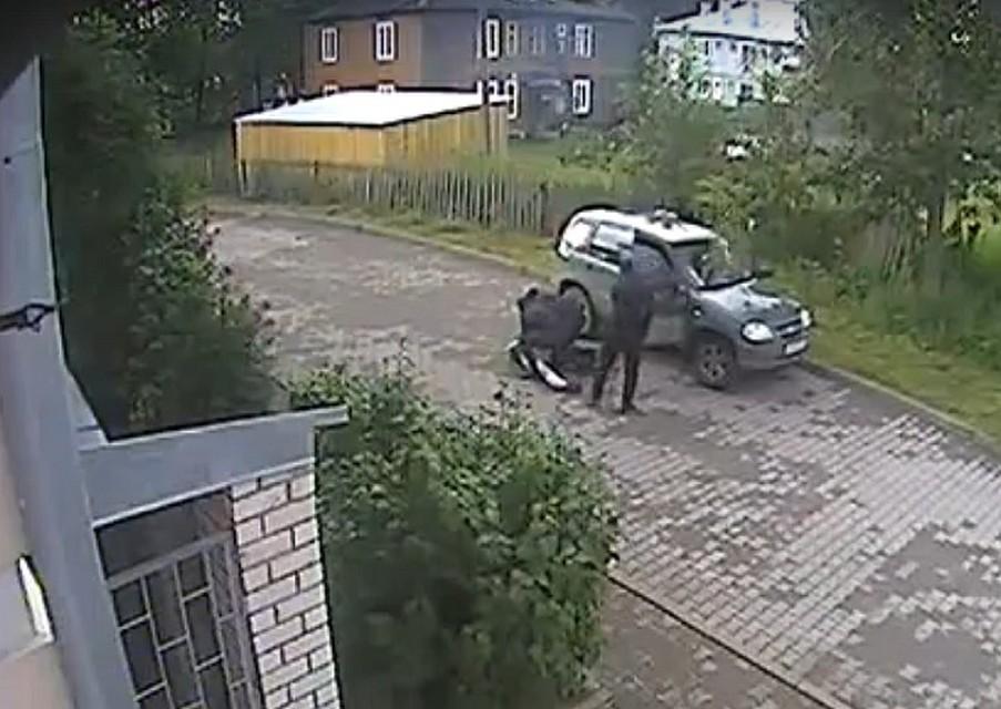 Стоп -кадр видео регионального управления СК РФ,