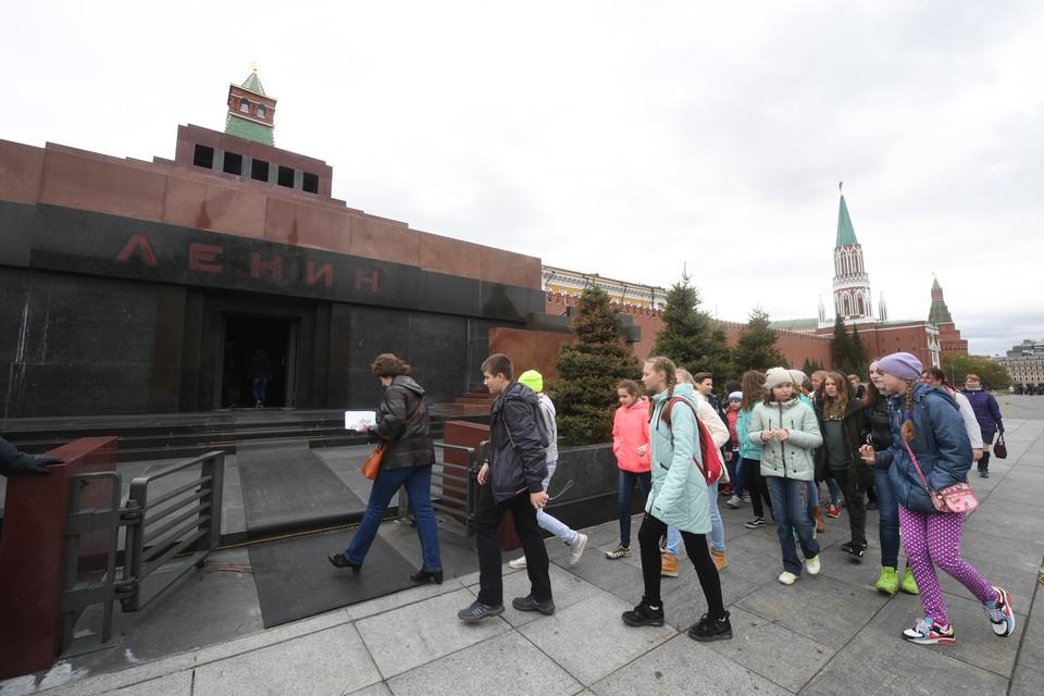 Вопрос захоронения тела Ленина уже много лет волнует общественность