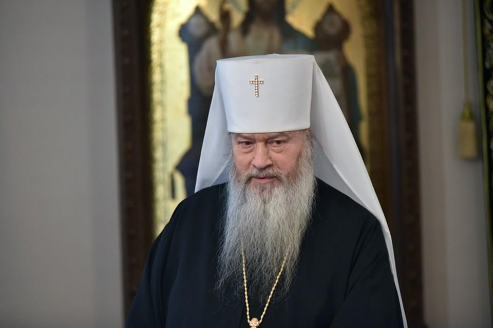 Митрополит Новосибирский и Бердский Тихон обратился с посланием к сибирякам.