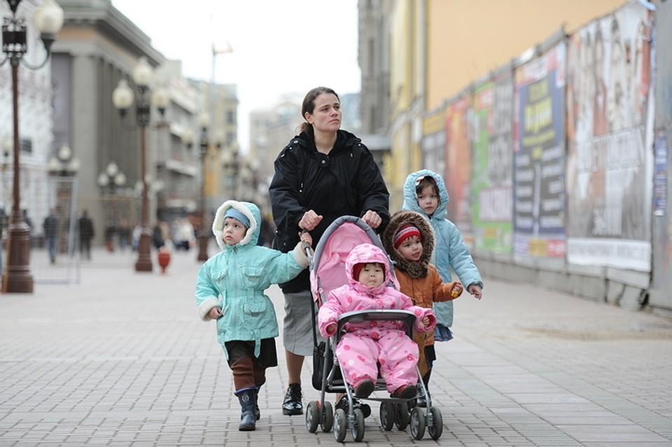 Пособия многодетным семьям в Петербурге в году