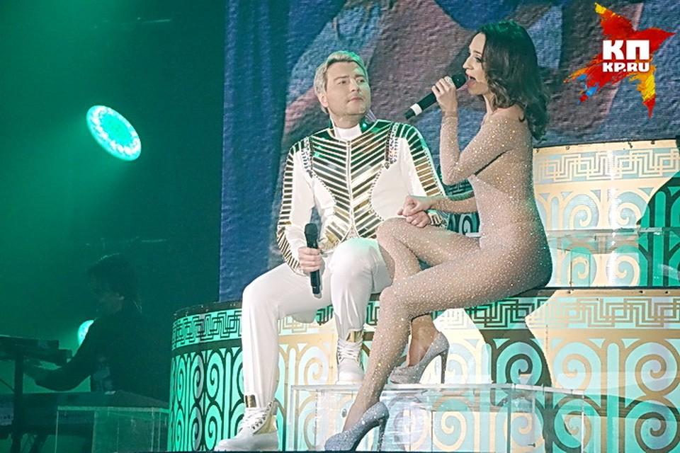 Николай Басков не ожидал, что его партнерша упадет с пьедестала.