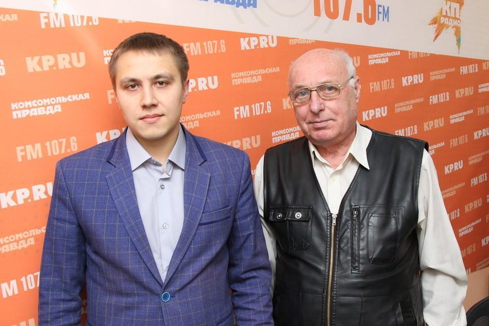 Александр Евсеев и Александр Шерминский