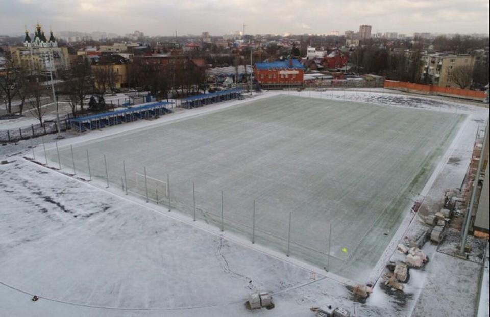 Стадион «Локомотив» станет настоящей кузницей чемпионов.