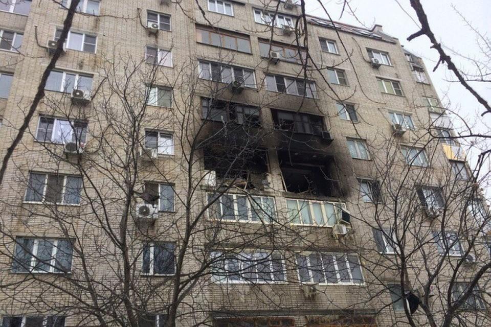 Взрыв газа произошел в жилом доме в Ростовской области
