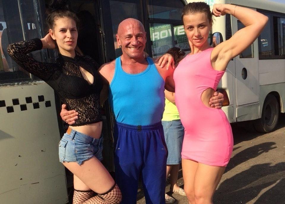 Ростовских актрис от дальнобойщиков пришлось отбивать. Фото: предоставлено Валерием Локтионовым.